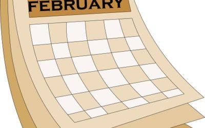 Hva skjer i februar?