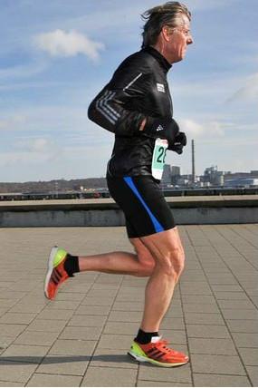 Håkon løp godt i Boston Marathon