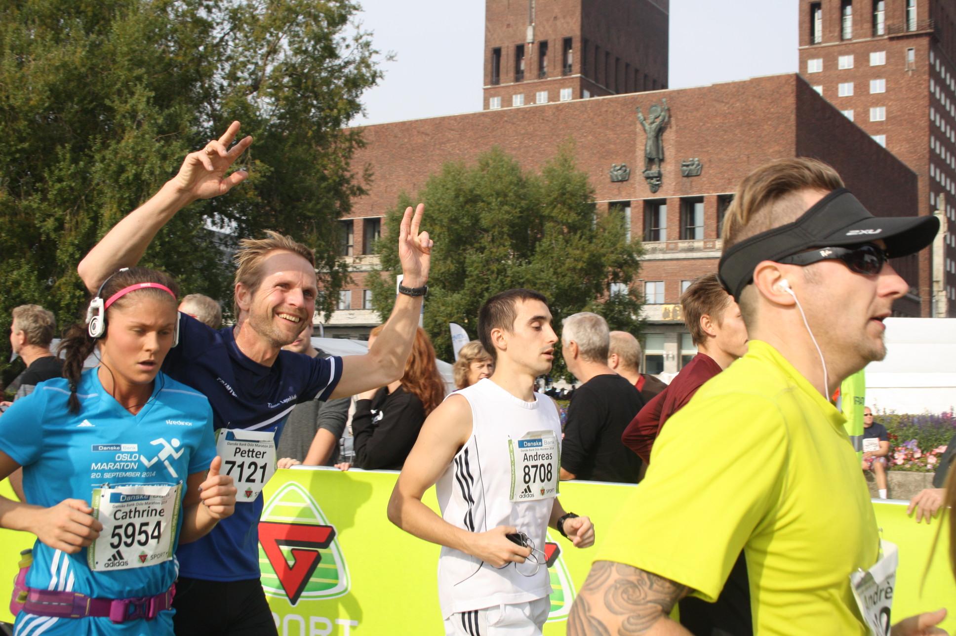 Flott innsats av TLK i Oslo Maraton