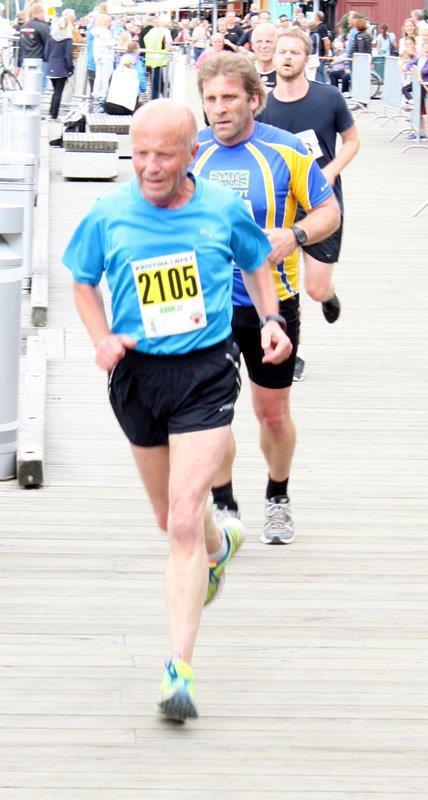 Jan løp Warszawa Halvmaraton