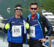 John og Marius deltok i Nibbeløpet