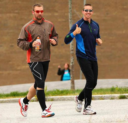 Alfred løp 608 km!