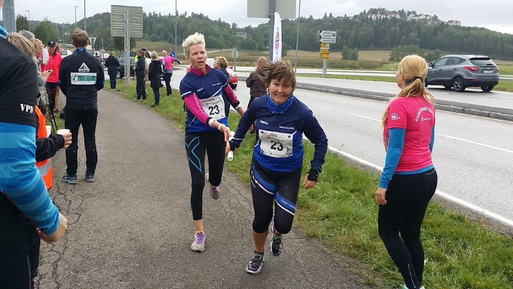 TLK satte sitt preg på Vestfold Maraton 2015