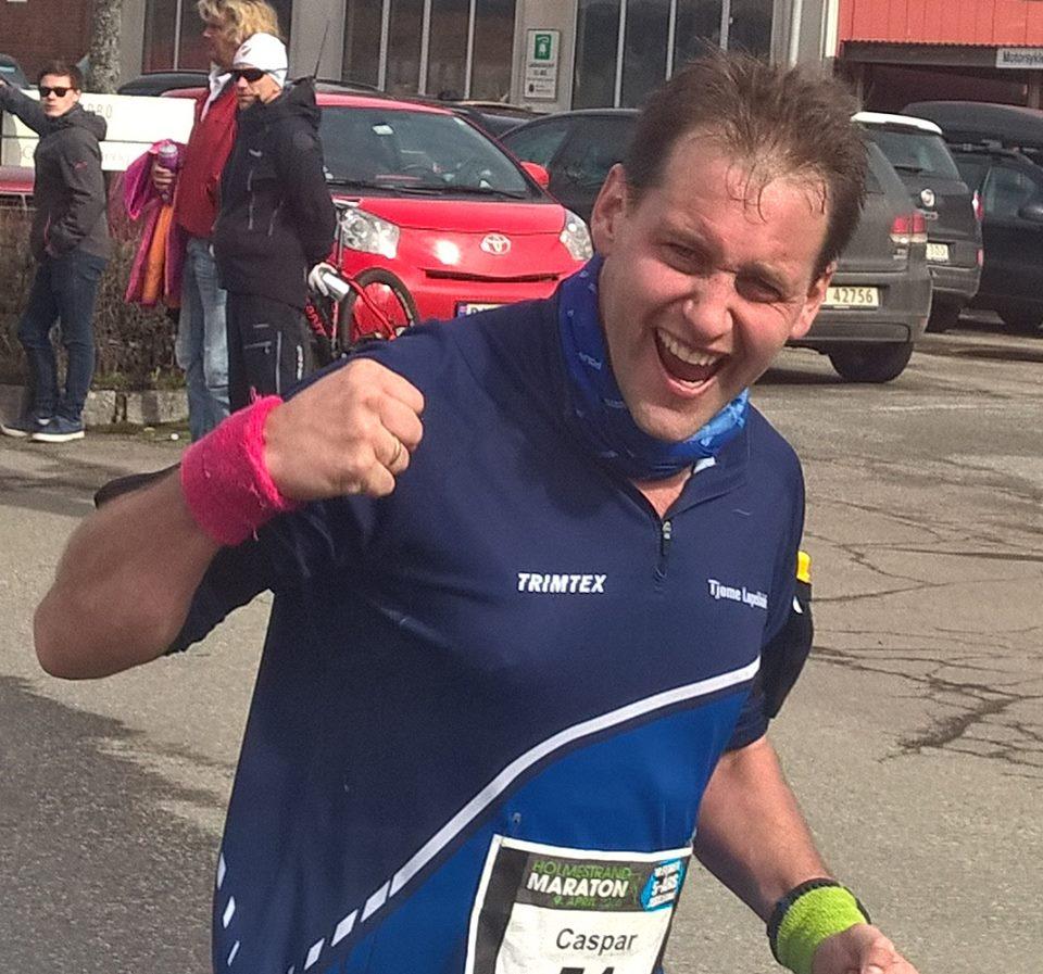 Flotte prestasjoner i Holmestrand Maraton