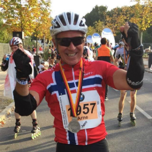 2 x Berlin Marathon og 1 x Tjøllingmila