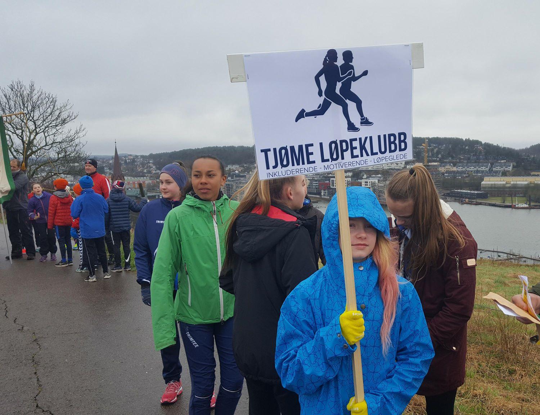 Flott innsats av TLKs jenter i Slottsfjellstafetten
