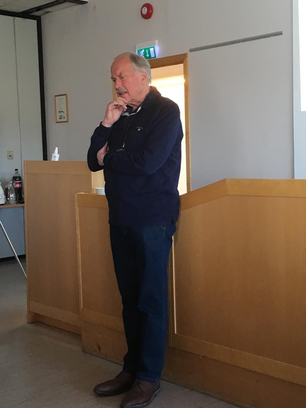 Johan Kaggestad besøkte TLK