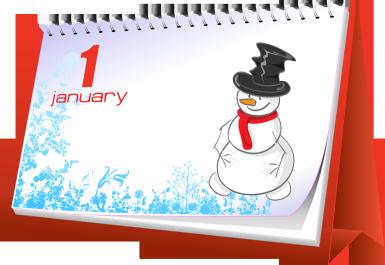 Hva skjer i januar?